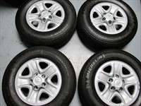 Toyota Tundra Factory 18 Steel Wheels Tires OEM 08 10 Sequoia