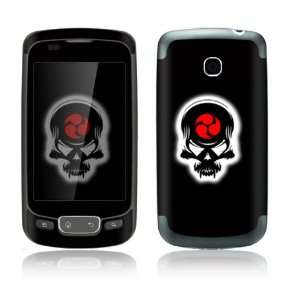 Death Skull Design Decorative Skin Cover Decal Sticker for LG Optimus