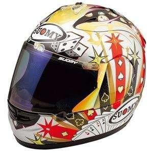 Suomy Excel Gambler Helmet   X Small/Orange Flame