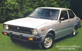 1978 TOYOTA COROLLA ~ 2 DOOR SEDAN ~ MAGNET
