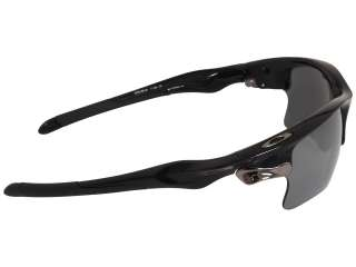 NEW OAKLEY FAST JACKET XL SUNGLASSES POLISHED BLACK W/ BLACK IRIDIUM