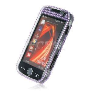 Ecell   PURPLE PANDA 3D CRYSTAL BLING CASE FOR SAMSUNG