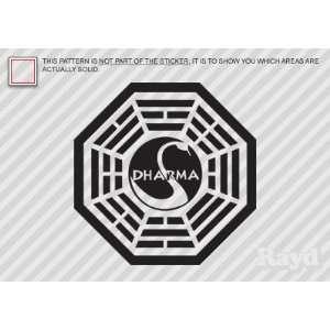 (2X) Lost   Dharma Initiative   Sticker   Decal   Die Cut