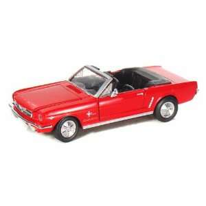 1964 1/2 Ford Mustang Convertible 1/24 Red Toys & Games