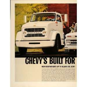 1966 Ad Chevrolet Chevy Truck Series 70000 80000 Models