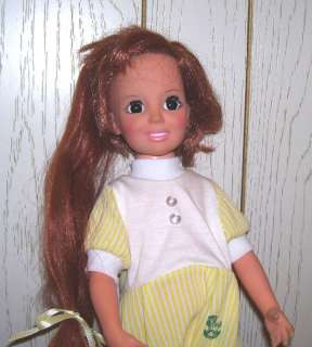 1972 IDEAL MOVIN GROOVIN GROWING HAIR CRISSY DOLL