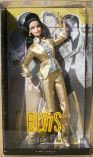 PINK LABEL ELVIS BARBIE NIB