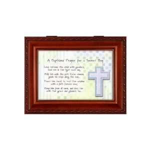 Boy Baptism Music and Jewelry Box How Great Thou Art: Home & Kitchen