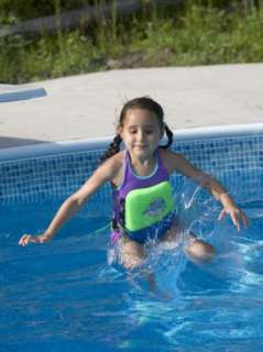 Year Old Girl Jumping Off Diving Board into Swimming Pool, Woodstock