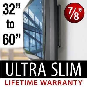 New Flat Screen Ultra Low Profile Wall Mount LCD LED PLASMA TV 32 37