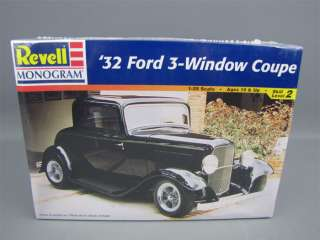 Sealed Revell 1932 Ford 3 Window Coupe Model Kit 1/25