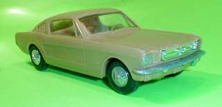 Ford Mustang Fastback 2+2 Annual Original 65 + Plastic Toy Car 2 Cars
