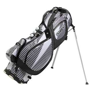 2012 Ogio Grom XX Stand Golf Bag   WHITE STRIPES