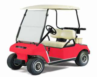 CLUB CAR DS GOLF CART CUSTOM ANY COLOR PAINT FRONT + REAR BODY COWL
