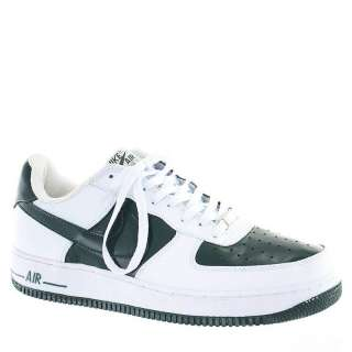 Nike Mens Air Force 1 Low Casual Sneakers White & Green Leather US 11