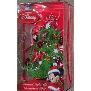 Minnie Mouse Musical Light Up Christmas Tree