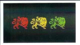 Lion Of Judah   Reggae Rasta Sticker / Decal