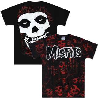 Misfits Fiend Allover T Shirt  Shop Ticketmaster Merchandise