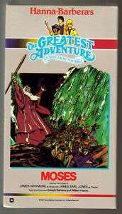Hanna Barberas THE Greatest Adventures MOSES (VHS)