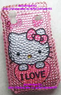 New Hello kitty Bling Case Cover For Samsung Galaxy Ace S5830 #3