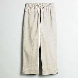 scott womens petite elastic waist capri pants be comfortably casual