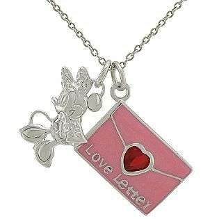 Charm Necklace in Sterling Silver  Disney Jewelry Childrens Jewelry