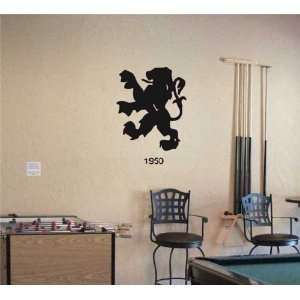Garage Wall Peugeot 1950 Logo Decal Sticker Art 08 Home