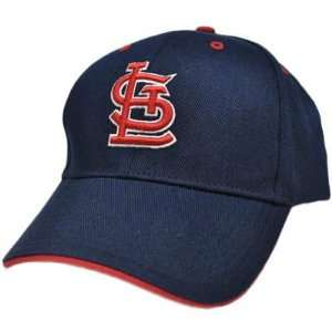 MLB Saint St Louis Cardinals 3D Baseball Hat Cap Navy Dark