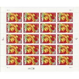 Chinese Lunar New Year Dragon Collectible Stamp Sheet