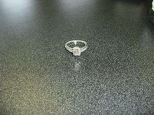 KAY Jewelers 5/8 CTDW 14k. White Gold Diamond Engagemnet Ring