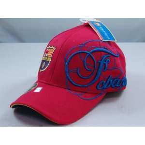 FC BARCELONA OFFICIAL TEAM LOGO CAP / HAT   FCB013 Sports