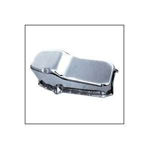 Chevy Small Block Oil Pan 65 79 Chrome Driver Side DT