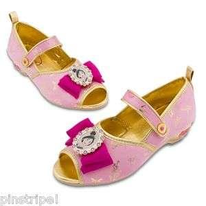 Disney Princess Mulan Shoes Slippers Light Up Jeweled