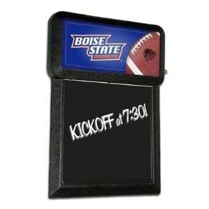 NCAA Boise State Broncos Team Menu Board with Football