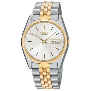 Seiko Mens SGF204 Two Tone Watch New