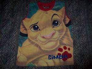 Disney Lion King Simba Rei Leao T Shirt Child Riachuelo