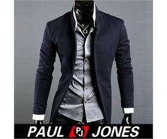 Korean Fashion Mens Casual Slim Fit Suit Sport Coat Blazer Jacket