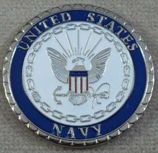 Navy   Duty * Honor * Country   Challenge Coin
