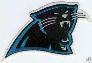 CAROLINA PANTHERS NFL FOOTBALL JERSEY SLEEVE PATCH