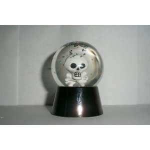 Halloween Skull Color Changing Lighted Water Snow Globe