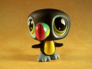 Littlest Pet Shop Lot Special Edition TOUCAN #1396 NEW Retired