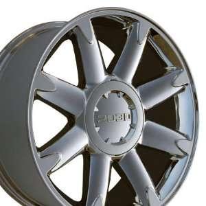Denali Style Wheels Fits GMC   Chrome 20x8.5 Set of 4
