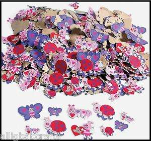 25 Foam Love Bugs Butterfly Stickers Shapes ABCraft
