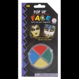 COLOR FACE PAINT Wheel Makeup Costume Halloween Clown