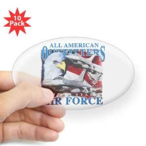 Oval) (10 Pack) All American Outfitters United States Air Force USAF