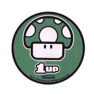 Nintendo Super Mario Bros. One Up Mushroom Sticker 96 325