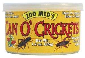 Can O Cricket 1.2oz Lizard Turtle Fish Bird Food ZM 41