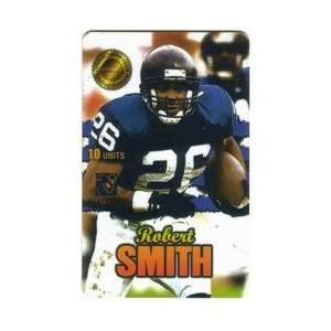 Collectible Phone Card 10u Men of Destiny Robert Smith RB Minnesota