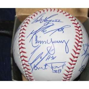 San Diego padres TEAM SIGNED Baseball A Gonzalez