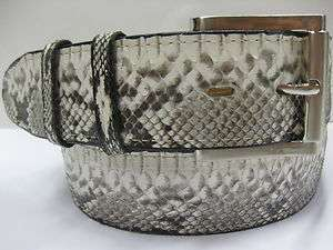 AUTHENTIC GENUINE REAL PYTHON SNAKE SKIN BELT 1.5 INCH MATCH COWBOY